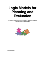 Logic models for planning and evaluation; a resource guide