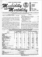 Morbidity and mortality weekly report, Vol. 21, no. 48,  For week ending December 2, 1972