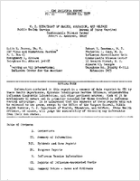 CDC influenza report no. 11, August 13, 1957