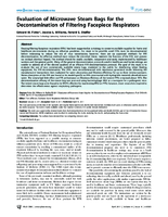 Evaluation of Microwave Steam Bags for the Decontamination of Filtering Facepiece Respirators