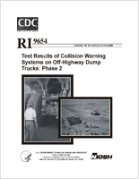Test results of collision warning systems on off-highway dump trucks; phase 2