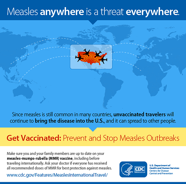 Measles anywhere is a threat everywhere