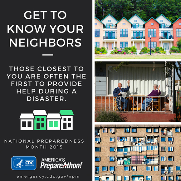 Get to know your neighbors