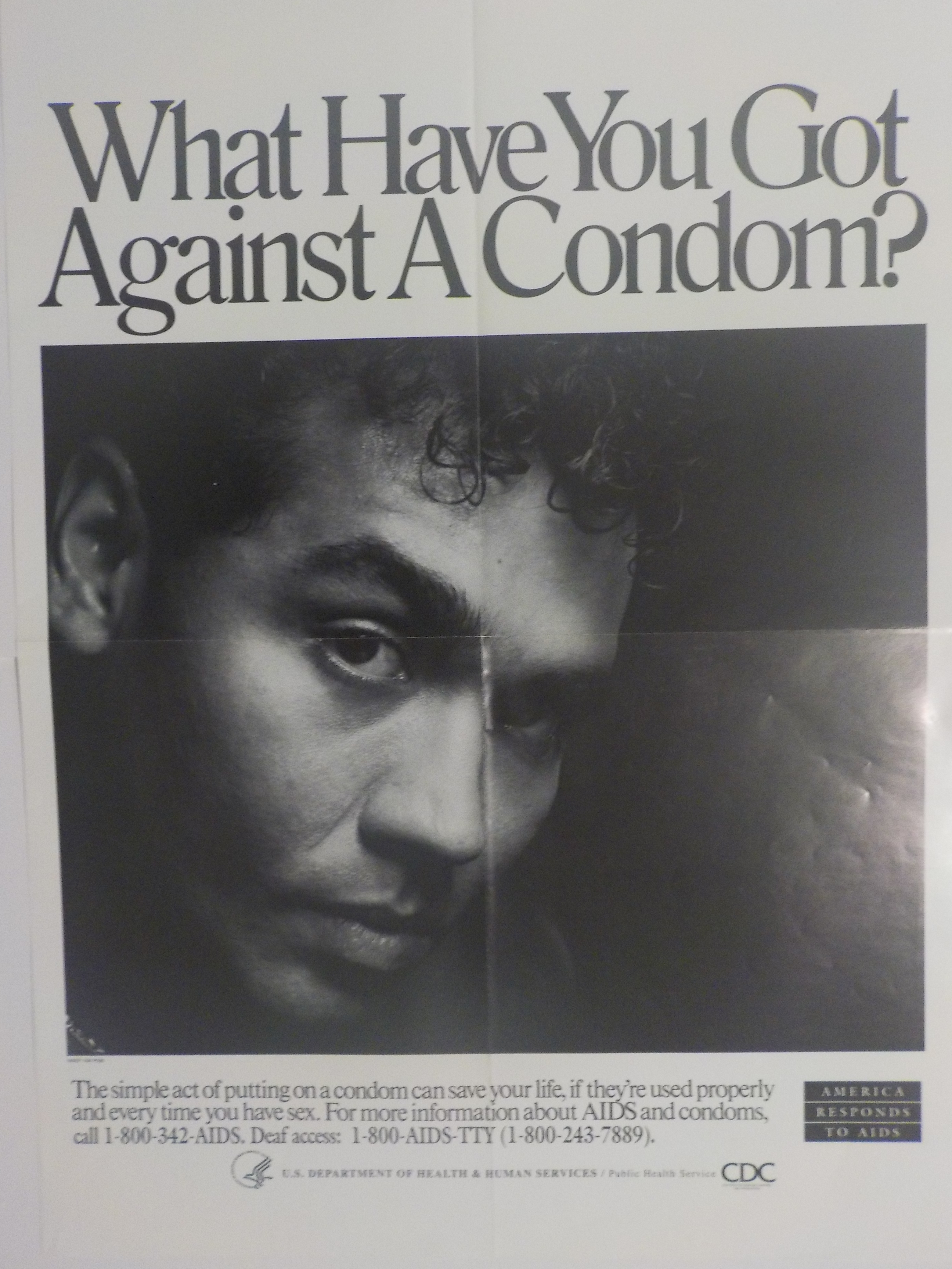 What have you got against a condom?