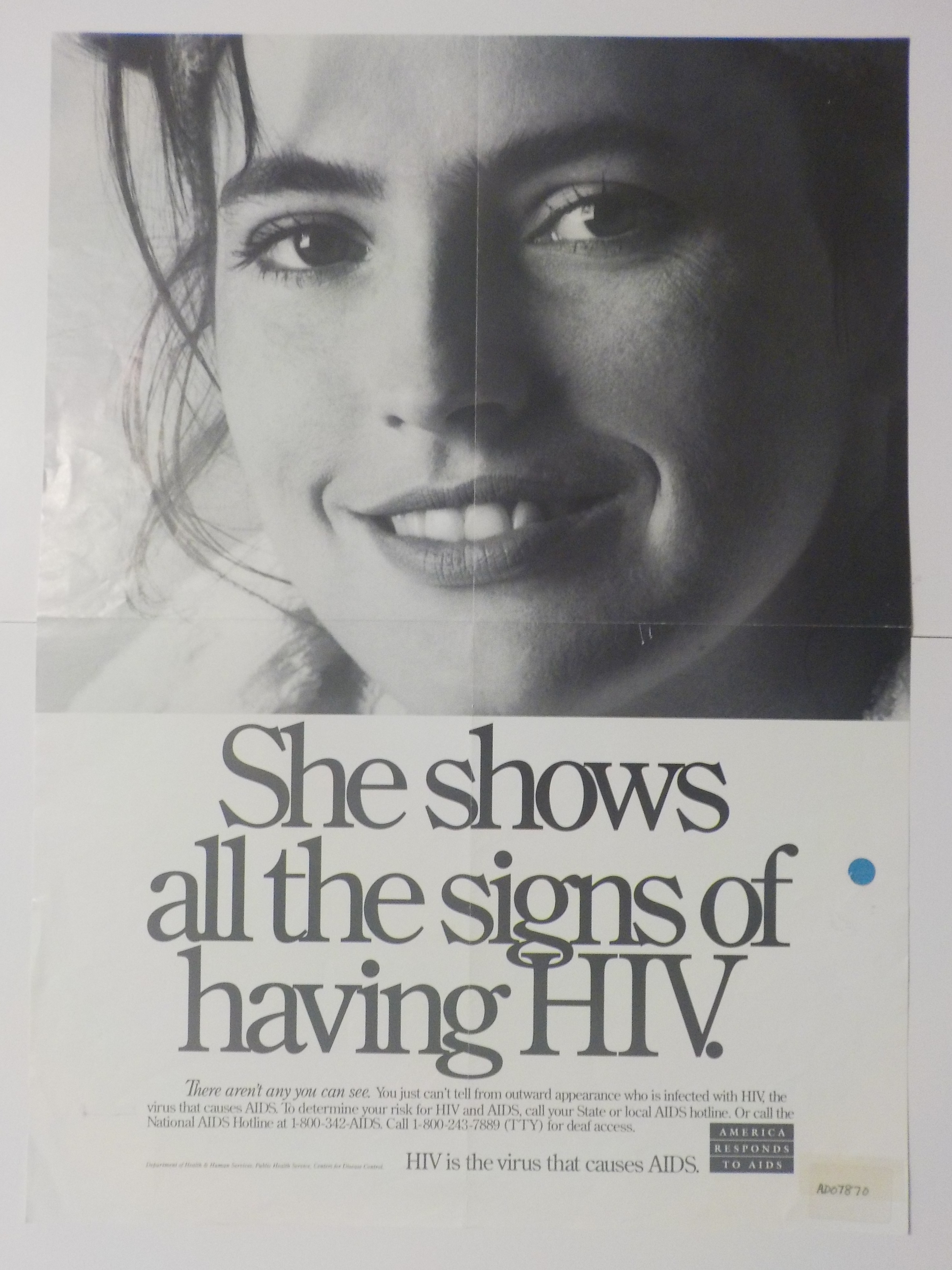 She shows all the signs of having HIV