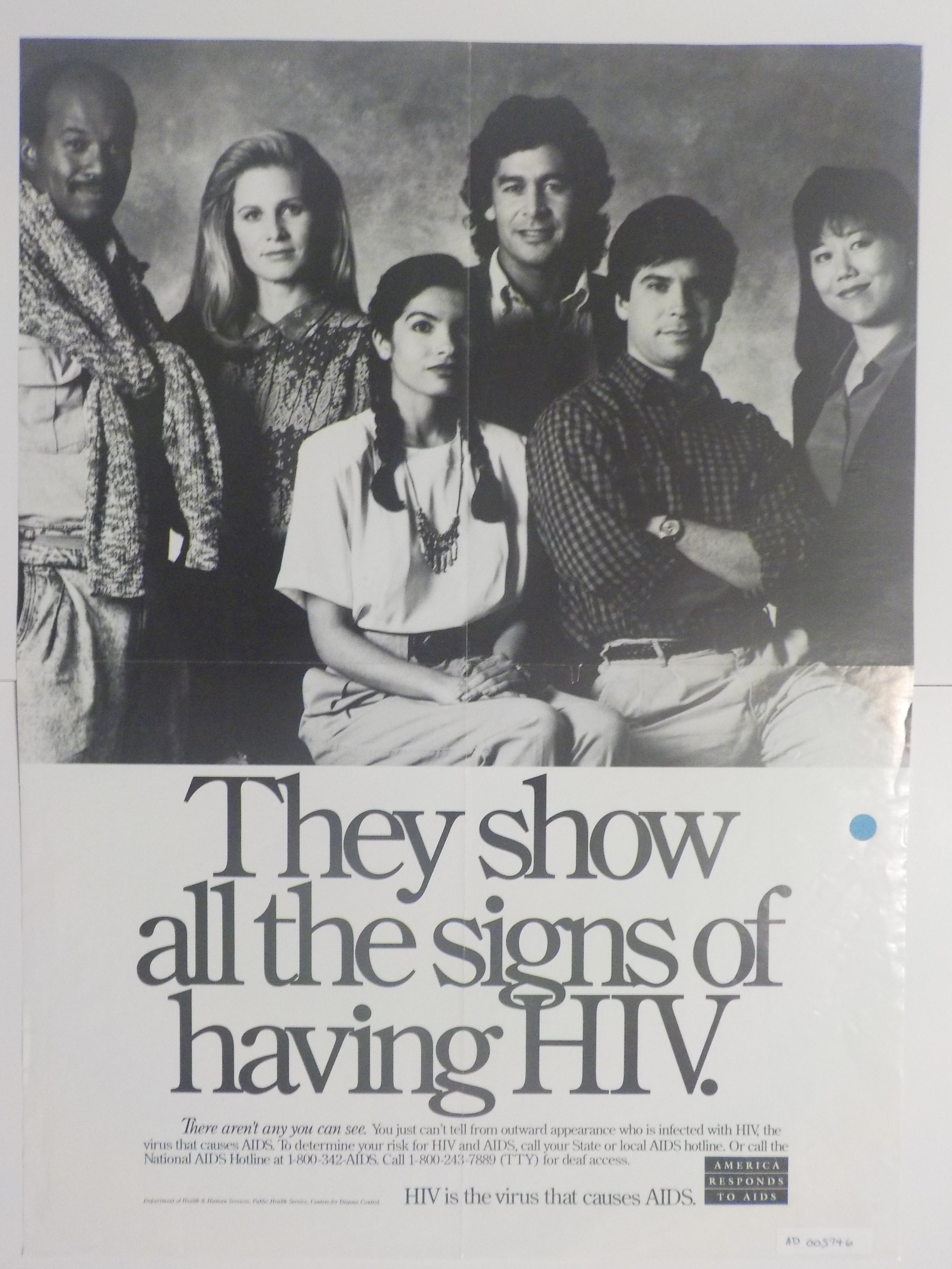 They show all the signs of having HIV