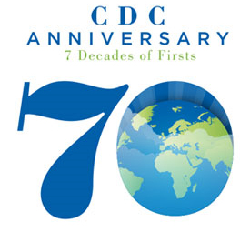 CDC 70th anniversary : 7 decades of firsts