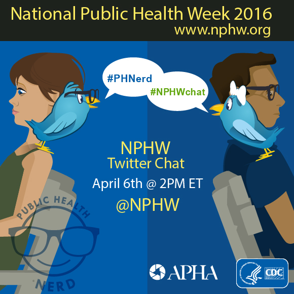 National Public Health Week 2016 graphic