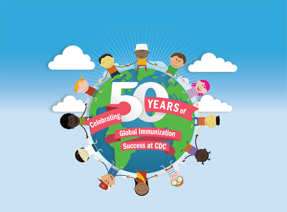 Celebrating 50 years of global immunization success at CDC