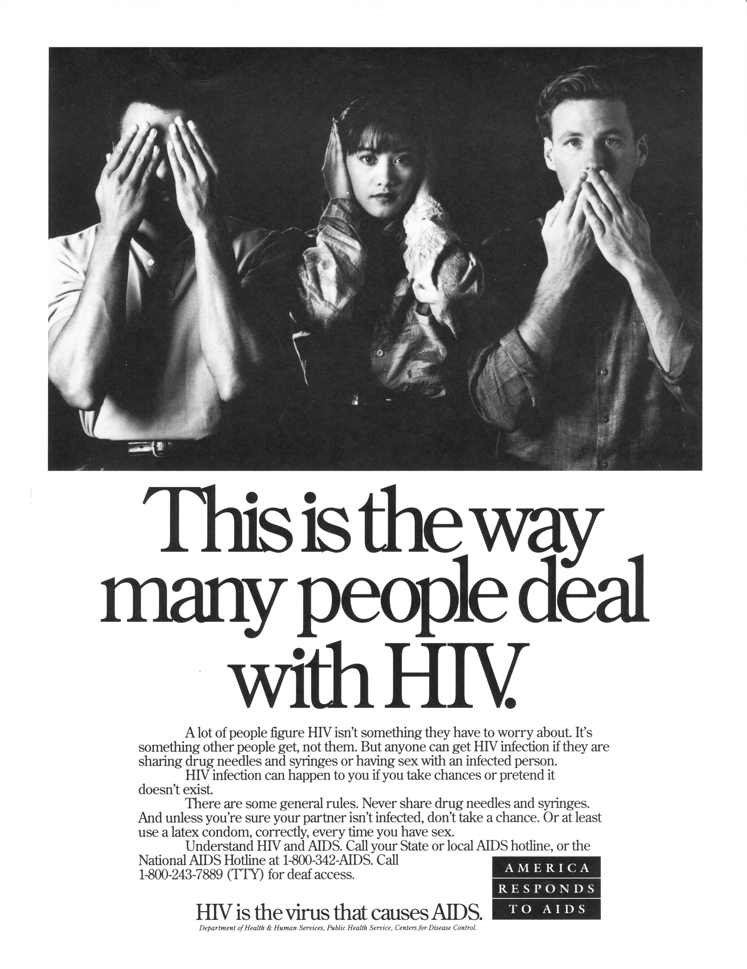 This is the way many people deal with HIV