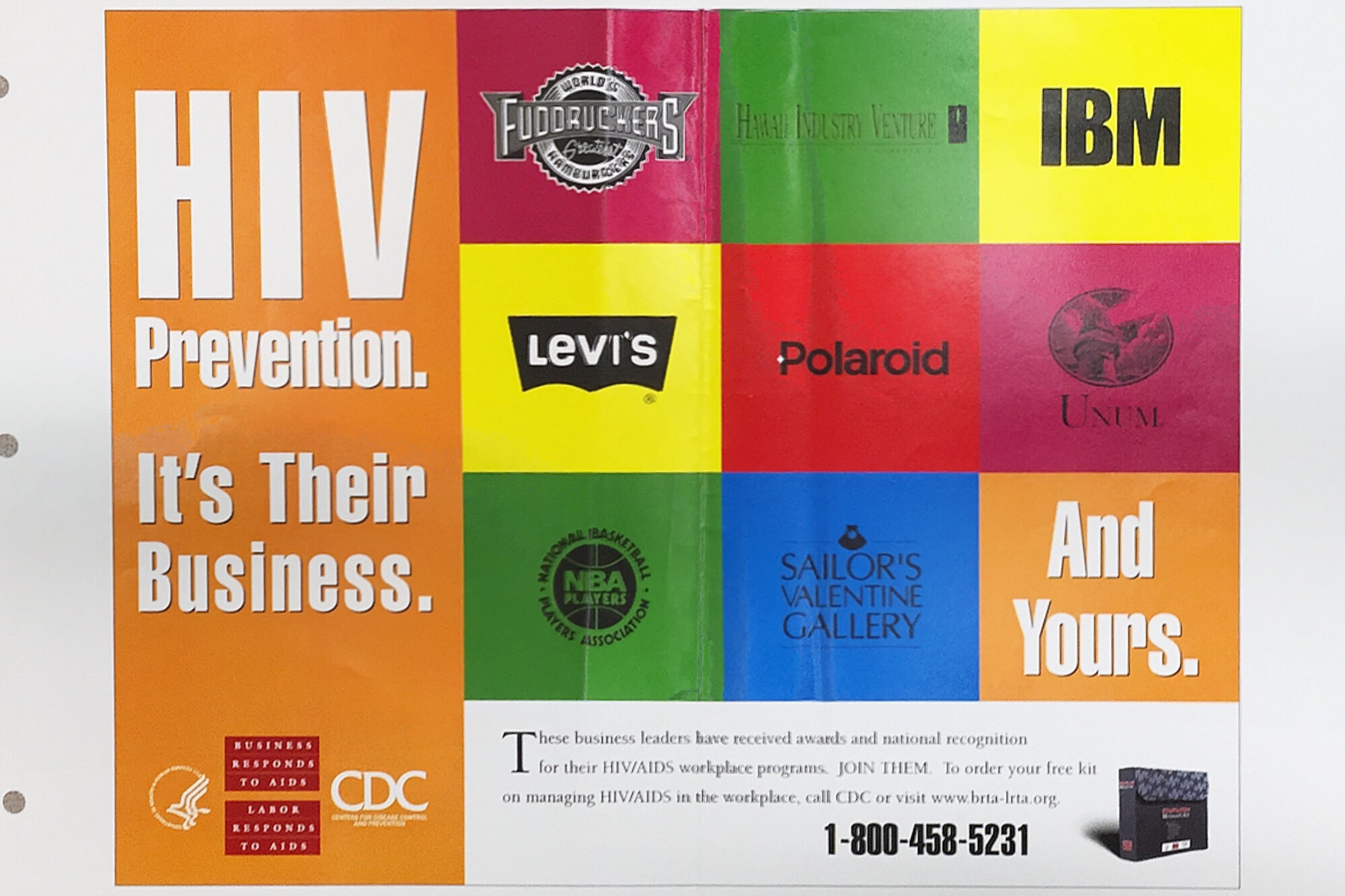 HIV prevention. it's their business. And yours.