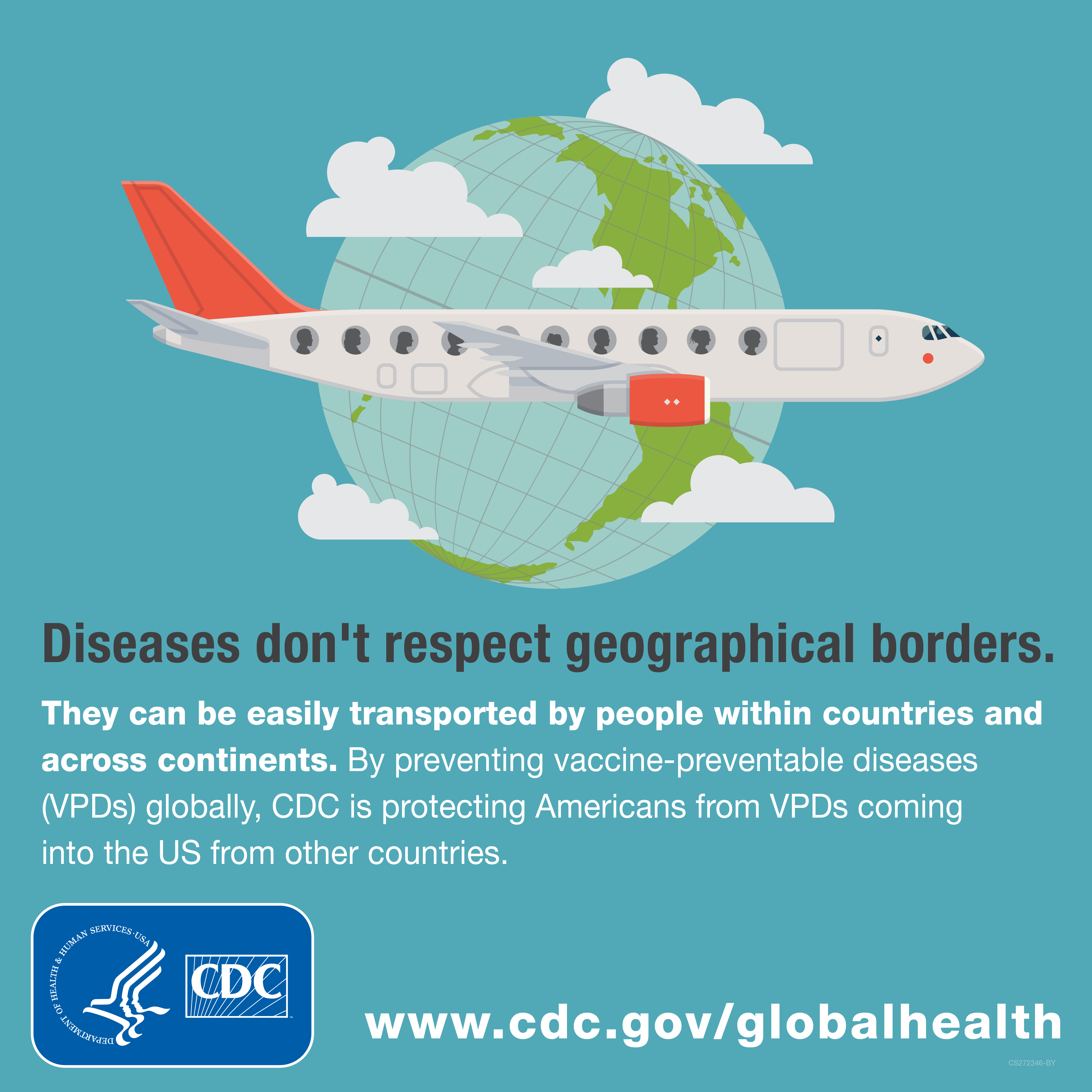 Diseases don't respect geographical borders