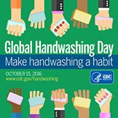 Global Handwashing Day : October 15, 2016