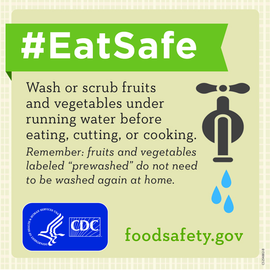 #EatSafe