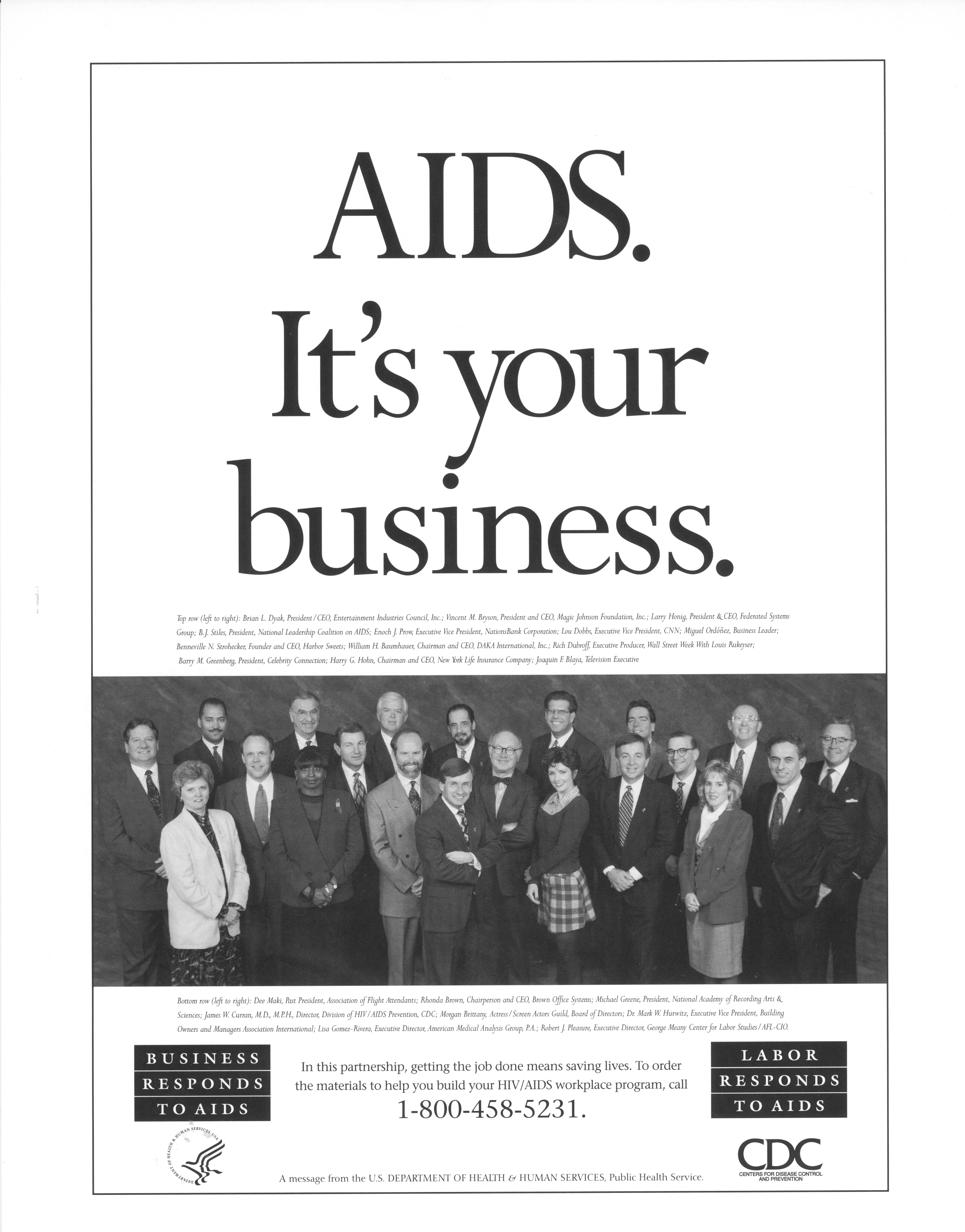 AIDS. It's your business.