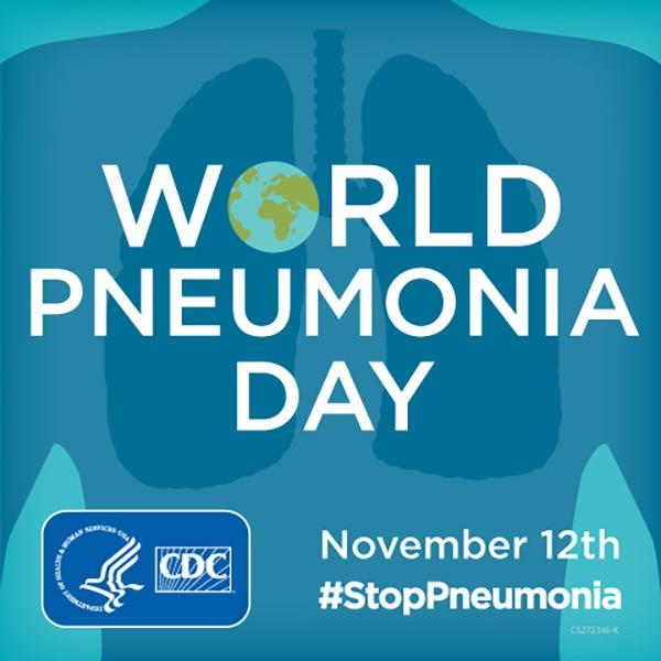 World Pneumonia Day : November 12th