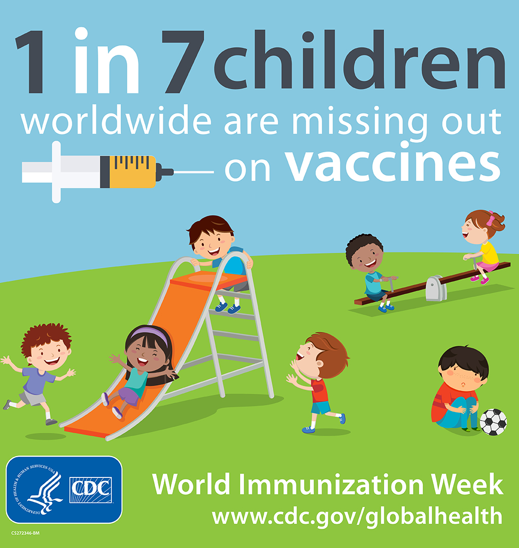 1 in 7 children worldwide are missing out on vaccines