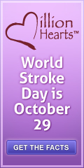 World Stroke Day is October 29. Get the facts.