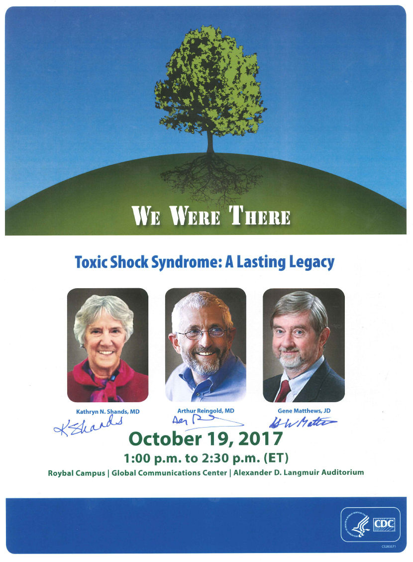 Toxic shock syndrome : a lasting legacy