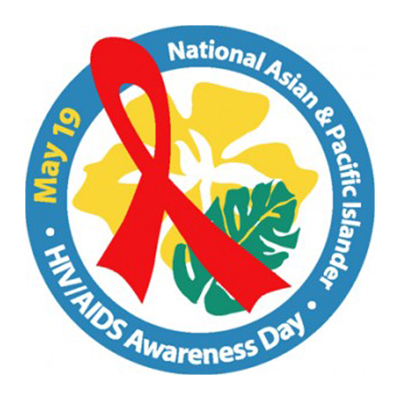 National Asian and Pacific Islander HIV/AIDS Awareness Day logo