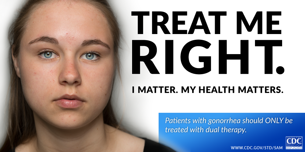 Treat me right. I matter. My health matters.