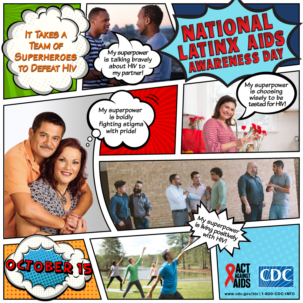 National Latinx AIDS awareness day : October 15, 2017