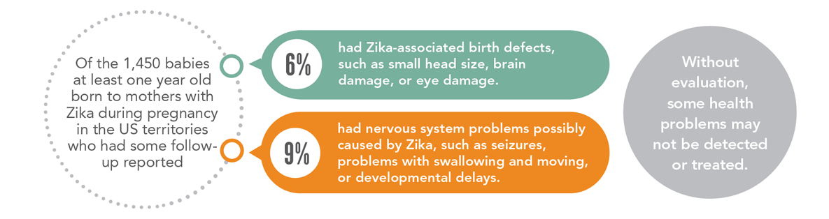 Zika causes birth defects and nervous system problems