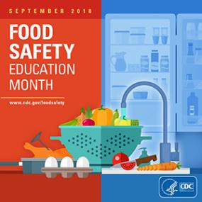 National Food Safety Education Month : September 2018