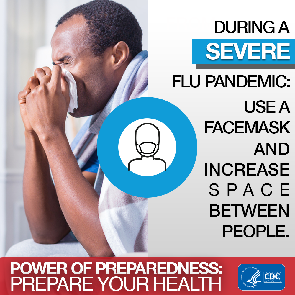 Power of preparedness : prepare your health : National Preparedness Month, week 2: Pandemic planning