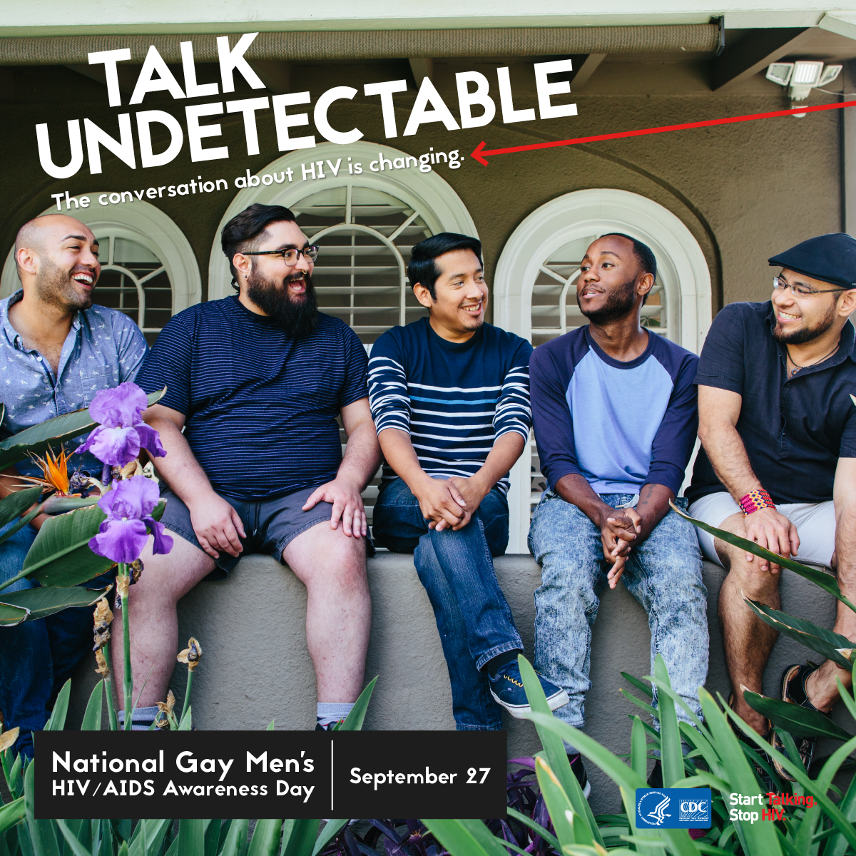 Talk undetectable : the conversation about HIV is changing