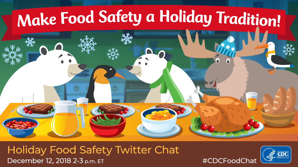 Make food safety a holiday tradition