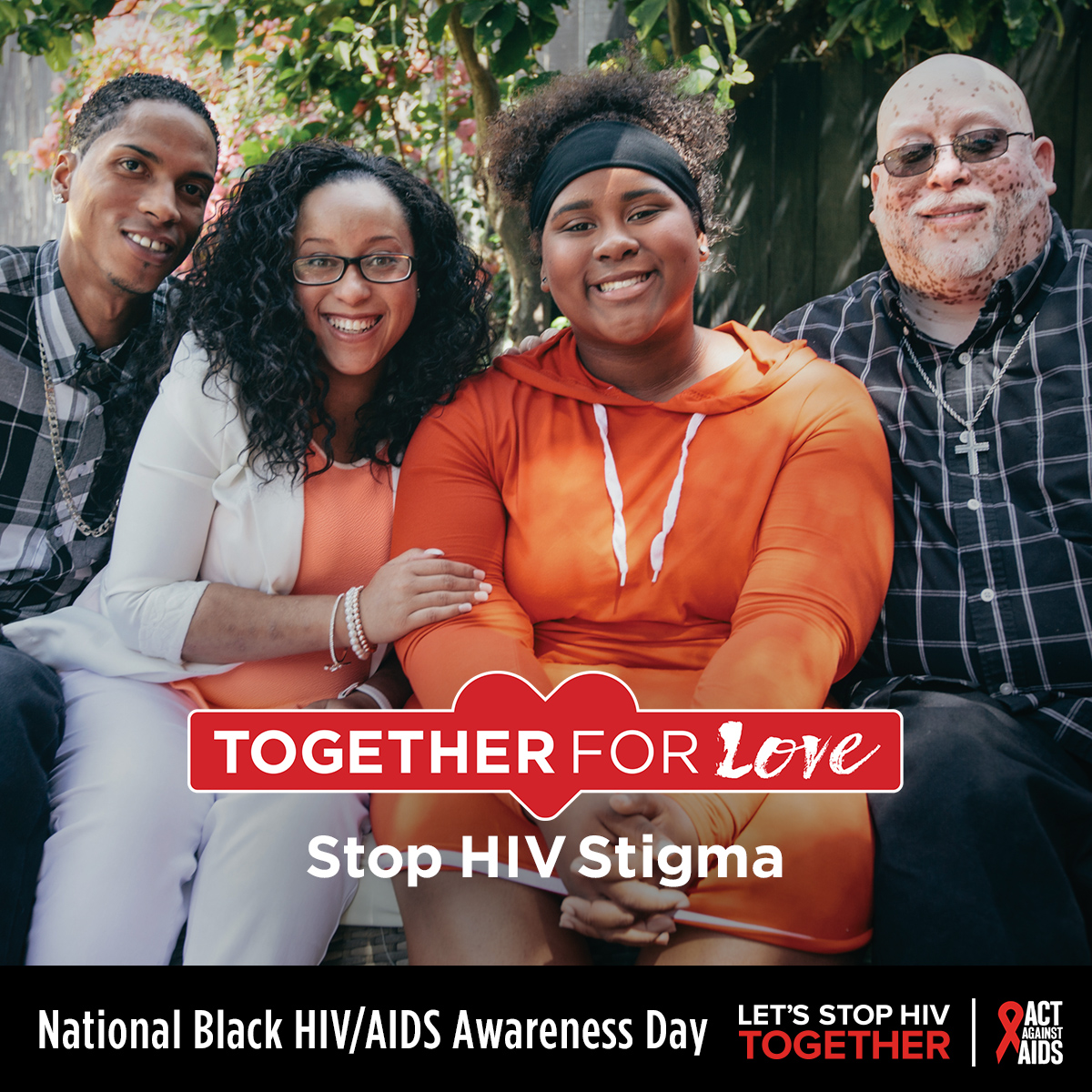 Together for love : stop HIV stigma