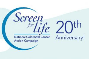 Screen for Life : National Colorectal Cancer Action Campaign 20th anniversary