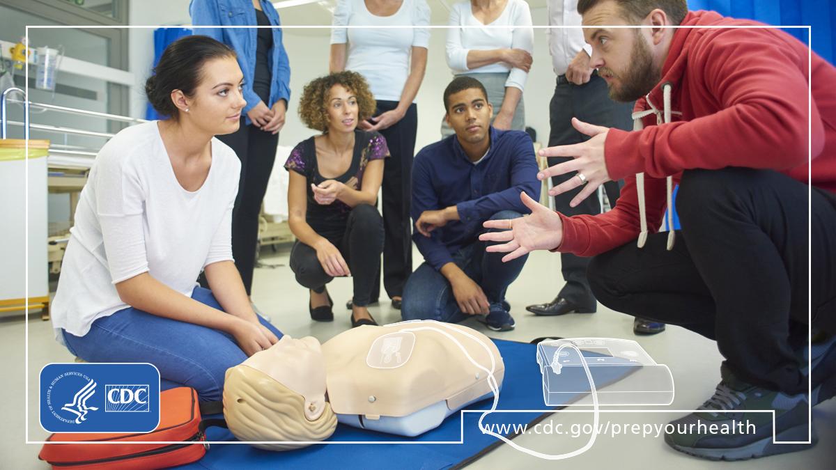 Prepare your health : personal health preparedness : practical skills [AED]