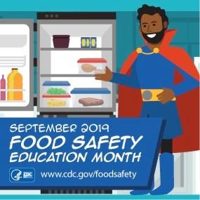 National Food Safety Education Month : September 2019