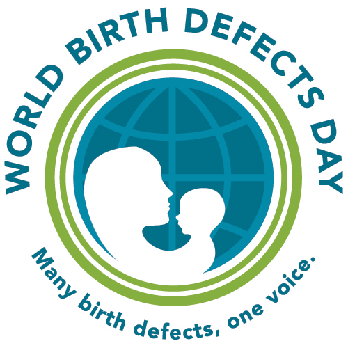 World Birth Defects Day : many birth defects, one voice