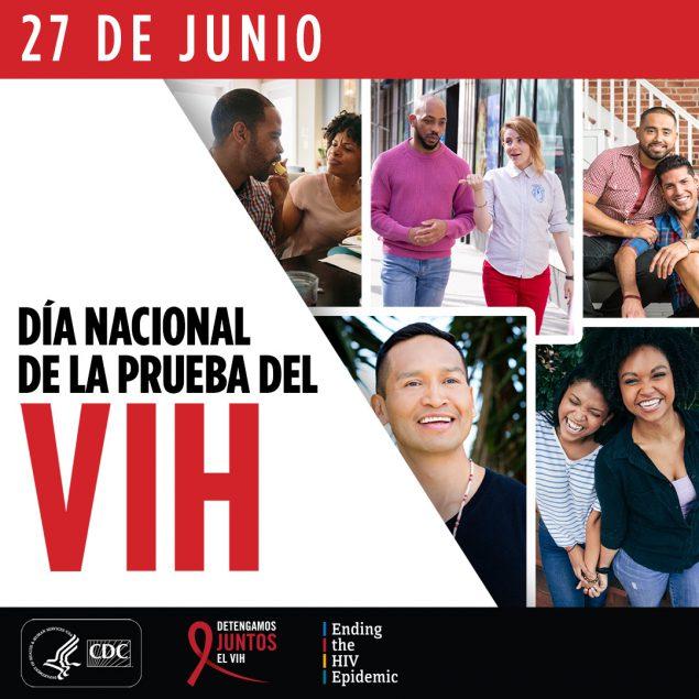 Día Nacional de la Prueba del VIH : 27 de junio